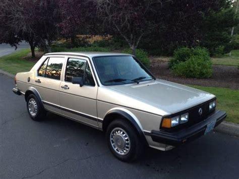 clean 1984 vw jetta mk1 turbo diesel buy volks