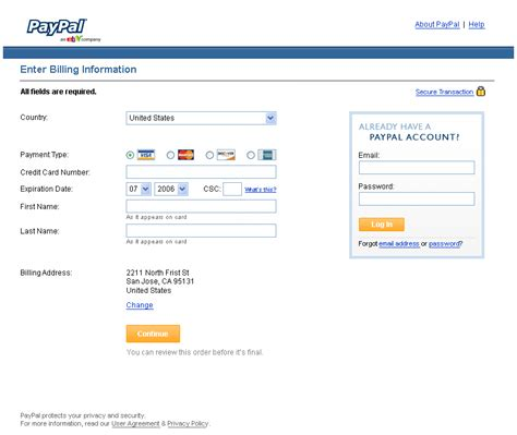 how to make an ebay account without a credit card paypal checkout on ebay by keefe at coroflot