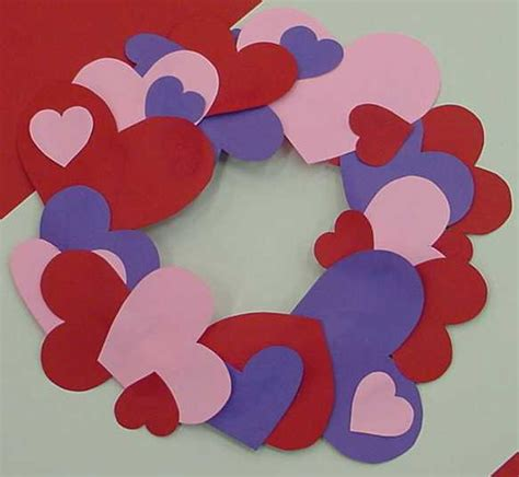 construction paper valentines day crafts s day decoration crafts