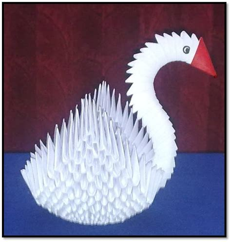 3d swan origami make 3d origami swan image search results