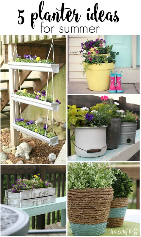 ideas for summer 5 planter ideas for summer house by hoff