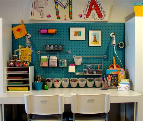 organizing crafts small study room organization using diy wood craft paper