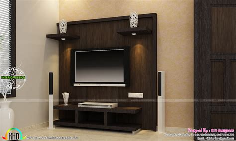 tv furniture for bedroom tv unit furniture dining and bedroom interiors kerala