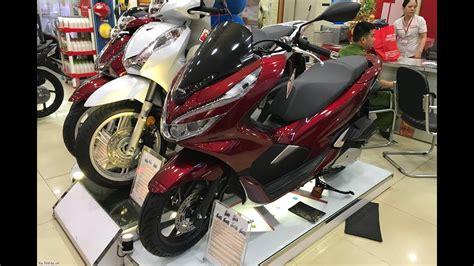 Pcx 2018 Thailand by New Honda Pcx 2018 Detail Honda Pcx 2018 At The Shop