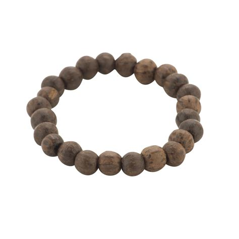 brown wood bead bracelets new brown bead wood chunky surf bracelet wristband by