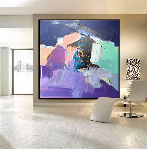 acrylic paint for large canvas made large acrylic painting on canvas by celineziangart