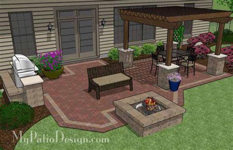 patio pit designs 25 best ideas about sted concrete patios on
