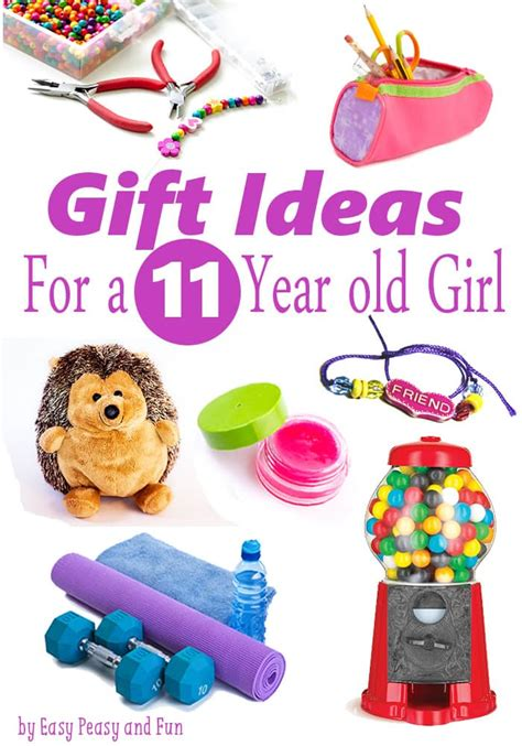 things for gifts best gifts for a 11 year easy peasy and