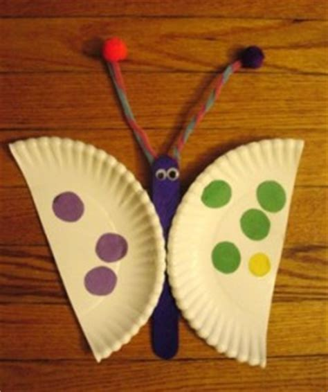 butterfly paper plate craft butterfly craft idea for crafts and worksheets for