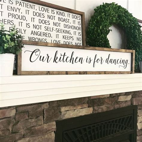 wooden signs home decor best 25 kitchen signs ideas on kitchen