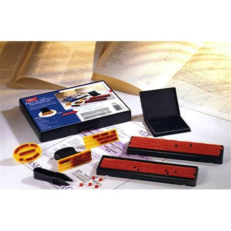 rubber st printing kit office supplies