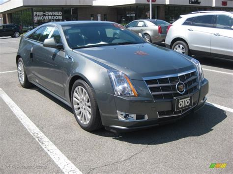 Green Cadillac Cts by 2011 Evolution Green Metallic Cadillac Cts 4 Awd Coupe