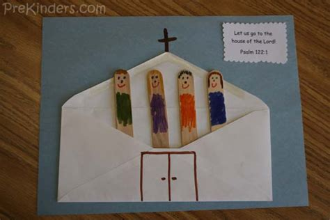 crafts for church envelope church prekinders