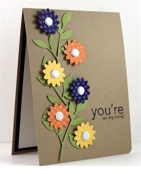 ideas of greeting cards authentic handmade decorating cards trendy mods