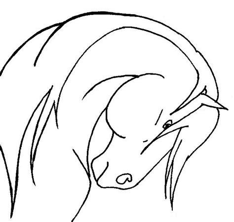 horse head coloring pages az coloring pages