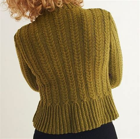 peplum knitting patterns ravelry peplum cardigan pattern by amanda free