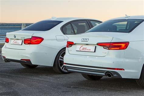 Bmw 3 Series Vs Audi A4 by Audi A4 2 0t Vs Bmw 320i 2016 Comparative Review Cars