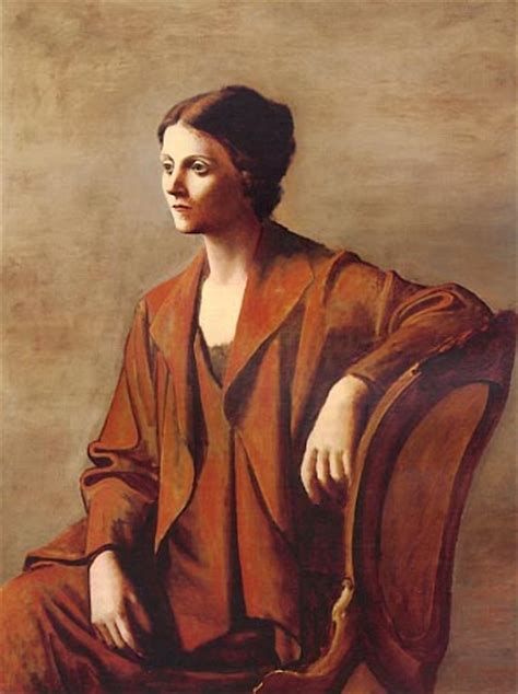 picasso paintings of olga khokhlova contrarian in the beginning picasso