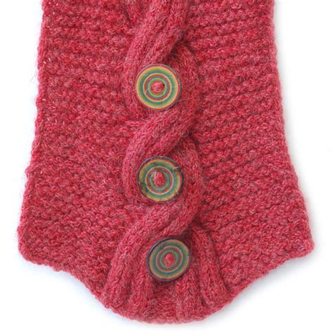 skacel knitting simplicria cabled cowl