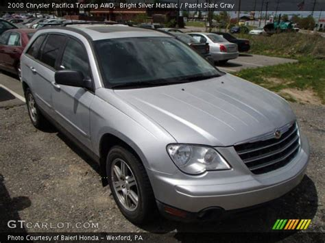 2008 Chrysler Pacifica Touring by Bright Silver Metallic 2008 Chrysler Pacifica Touring