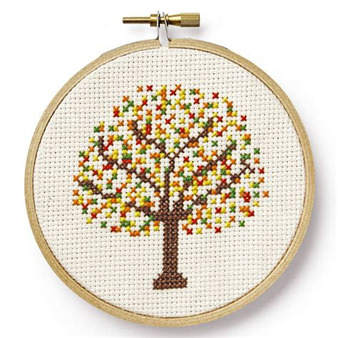 small tree pattern free and easy printable cross stitch patterns and