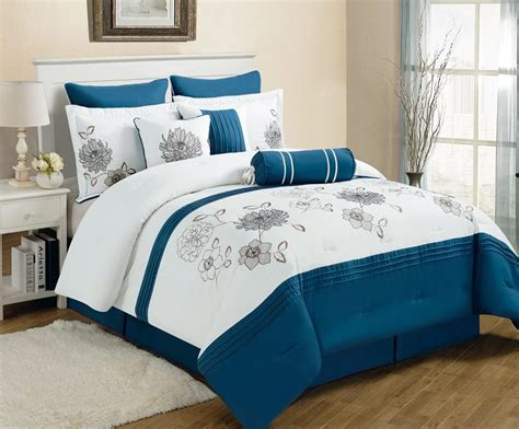 bedding blue blue and gray bedding sets spillo caves