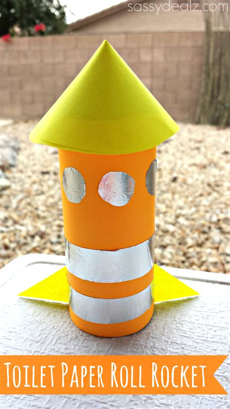 craft out of toilet paper roll rocket toilet paper roll craft for crafty morning