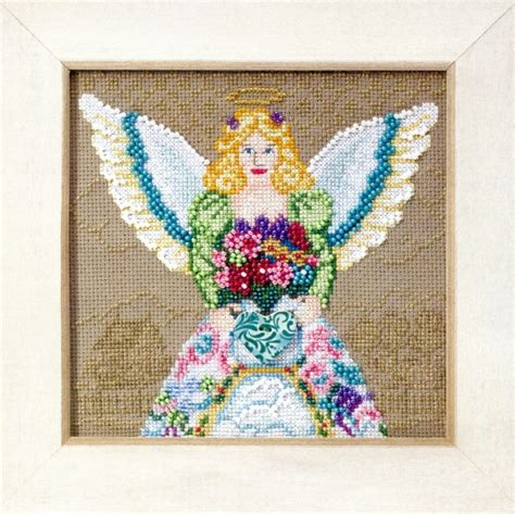 beaded cross stitch beaded cross stitch kit mill hill 2010 jim