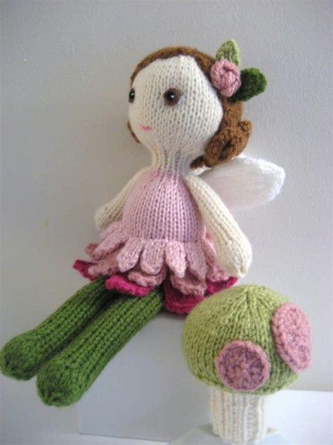 fairytale knitting patterns amigurumi knit doll and pattern set digital
