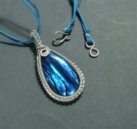 how to make abalone shell jewelry abalone shell silver necklace by veranasfa on deviantart