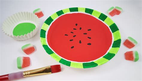and crafts watermelon craft activity for summer s s
