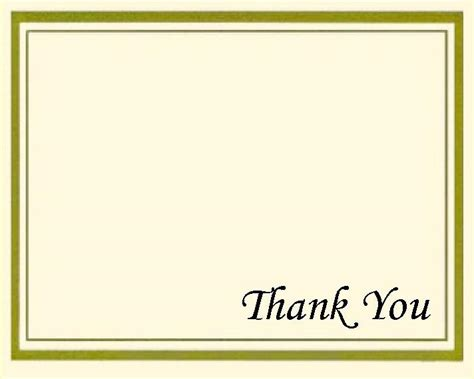 thank you card thank you card sle front text