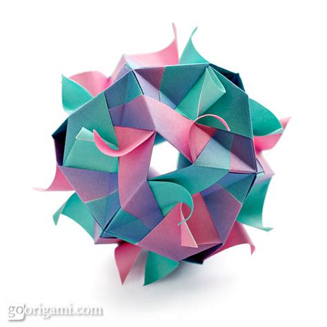 origami kusudamas kusudama origami gallery go origami