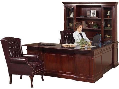 executive u shaped desk executive u shaped office desk w left credenza kes 038
