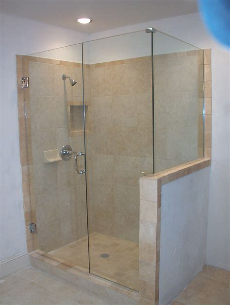 shower door glass frameless shower glass doors and enclosure for todays