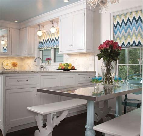 chevron kitchen curtains 20 kitchen curtain designs ideas design trends