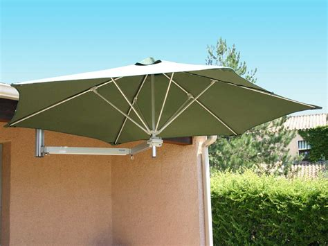 the wall patio umbrella luxury umbrellas paraflex wallflex 9 foot push lift tilt