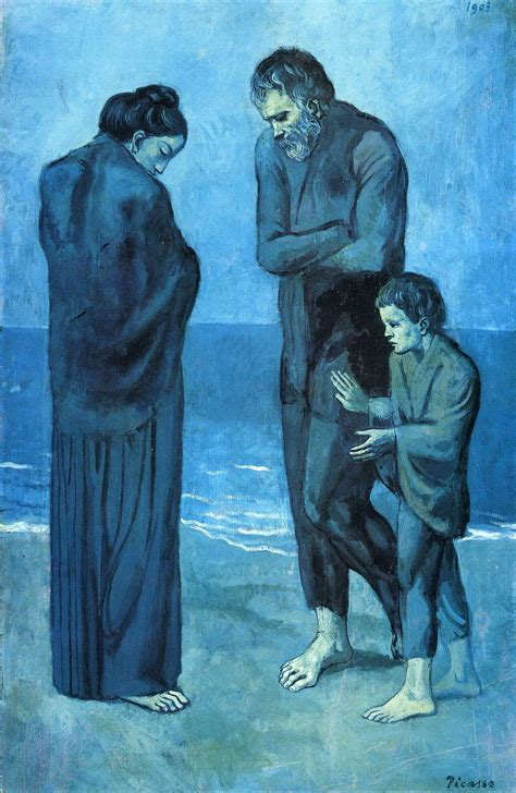 picasso paintings images blue period pablo picasso s blue period 1901 1904