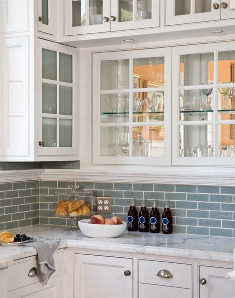blue kitchen tile backsplash sea blue glass tile backsplash design ideas