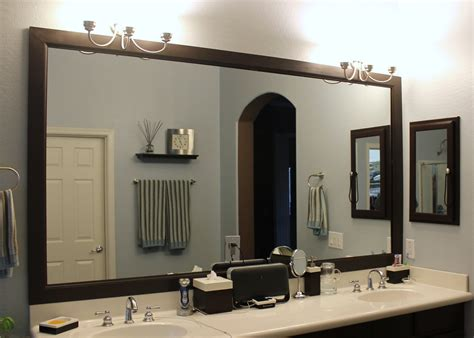 diy bathroom mirror frame bathroom ideas