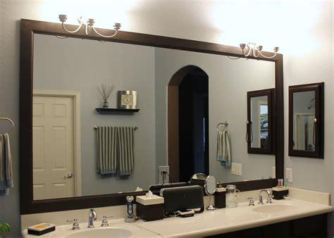 bathroom mirror frame ideas diy bathroom mirror frame bathroom ideas