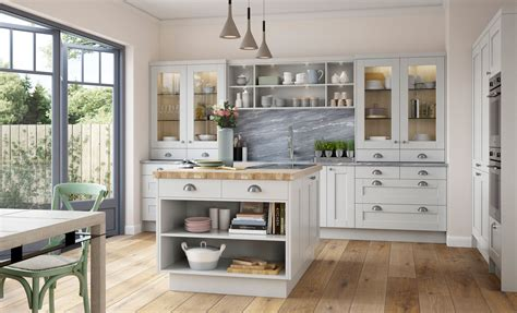 light grey shaker kitchen shaker kitchen doors kensington light grey uform