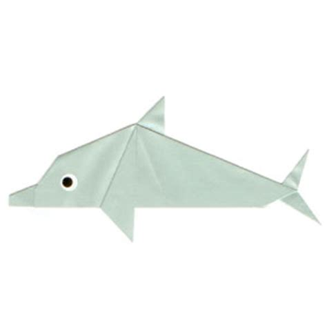 origami dolphin how to make a traditional origami dolphin page 1
