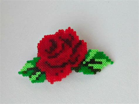 a bead of roses hama mini flower barrette hair clip by