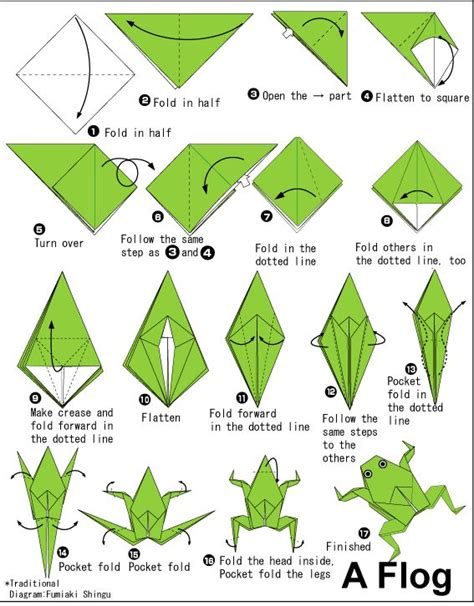how to make an easy origami frog 25 best ideas about origami frog on easy