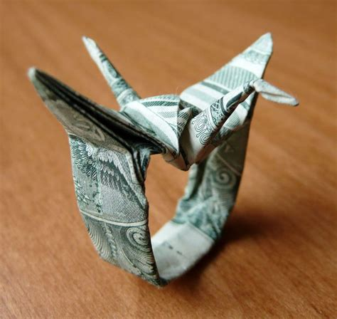 origami crane dollar bill 17 best ideas about origami cranes on paper