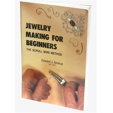 books on jewelry for beginners jewelry for beginners scroll wire method book ebay