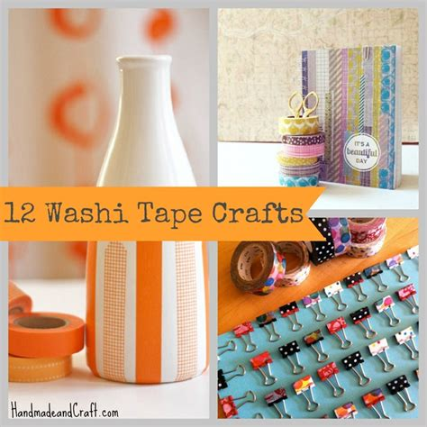 easy craft gifts for 12 washi crafts diy gifts