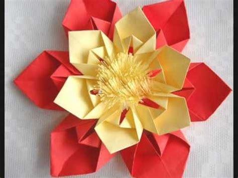 flor origami origami flor