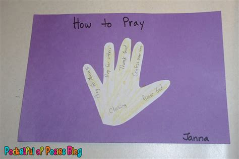 prayer crafts for sunday school crafts prayer blessings overflowing